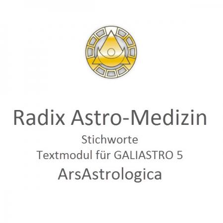 Radix Astromedizin Galiastro