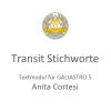 Transit Stichworte Cortesi