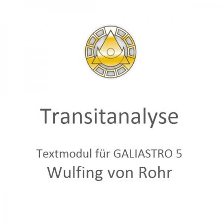 Transit Analyse von Rohr
