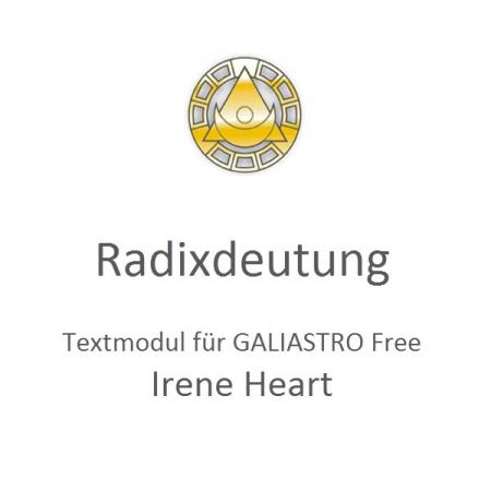 Galiastro Radixdeutung Heart